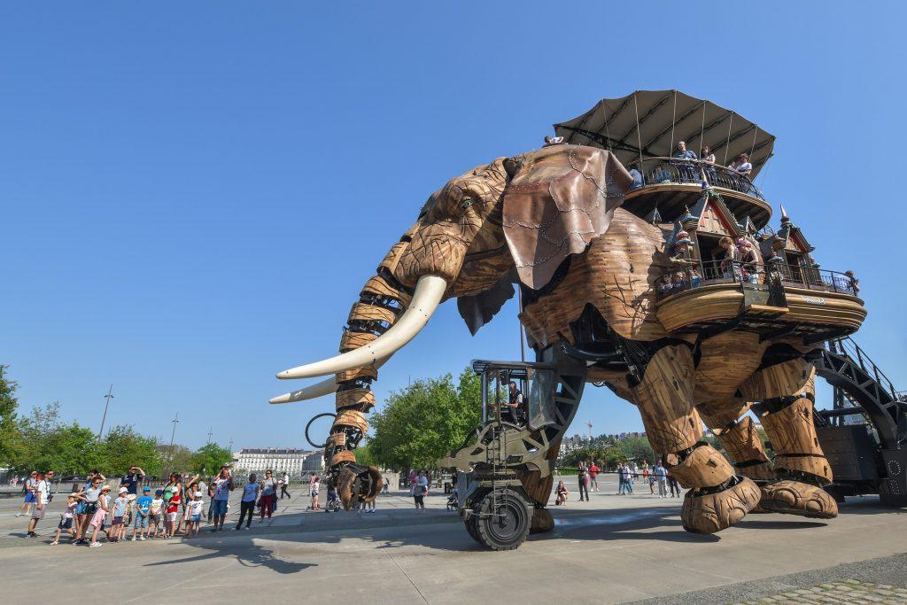 éléphant à Nantes