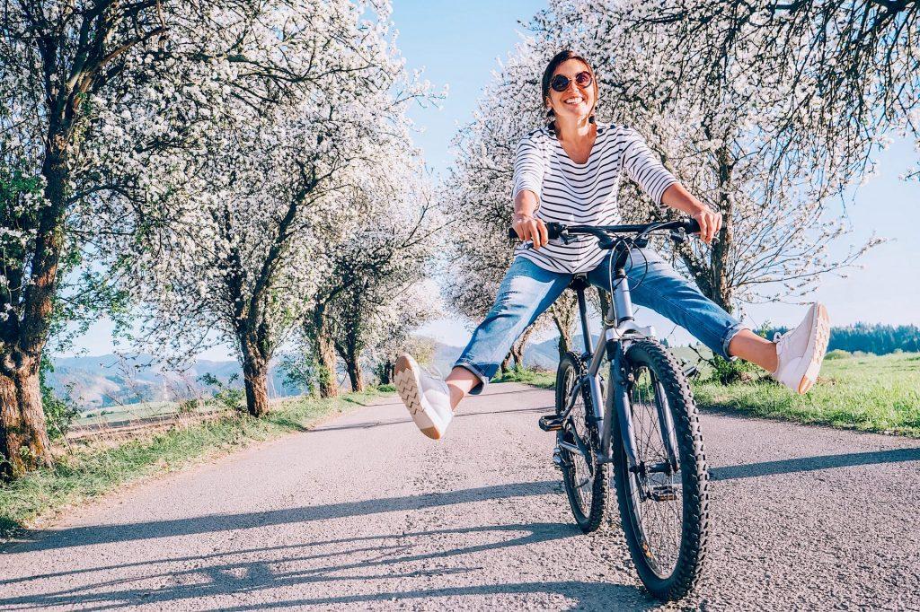 Le vélo, même électrique, est bon pour la santé